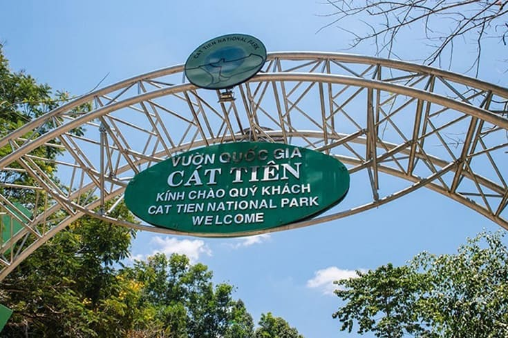 How to get to Cat Tien National Park