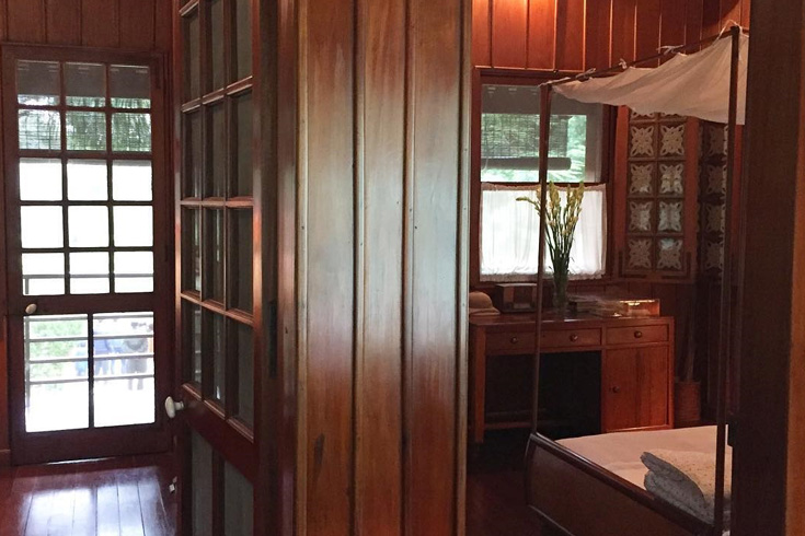Interior design in Ho Chi Minh's stilt house