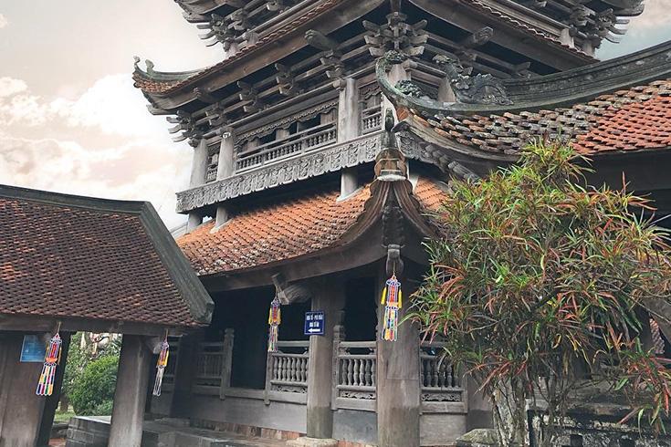 11. Keo Pagoda, Thai Binh Province