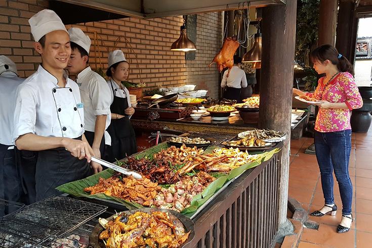Kitchen Sen Tay Ho buffet restaurant