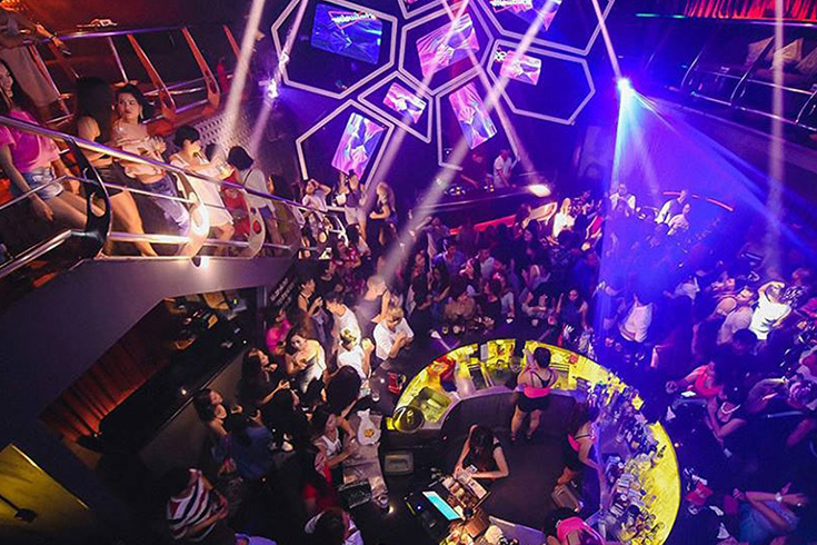 Lush night club - nightlife in Saigon