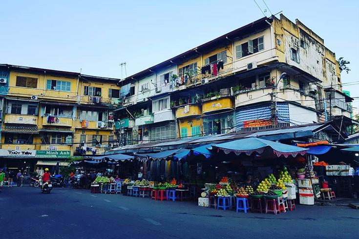 Part of An Dong market