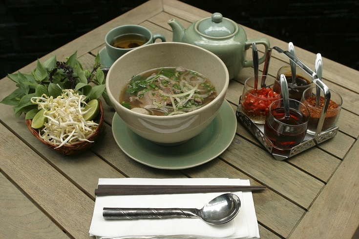 Pho -Beef noodles - a must try Vietnam experience