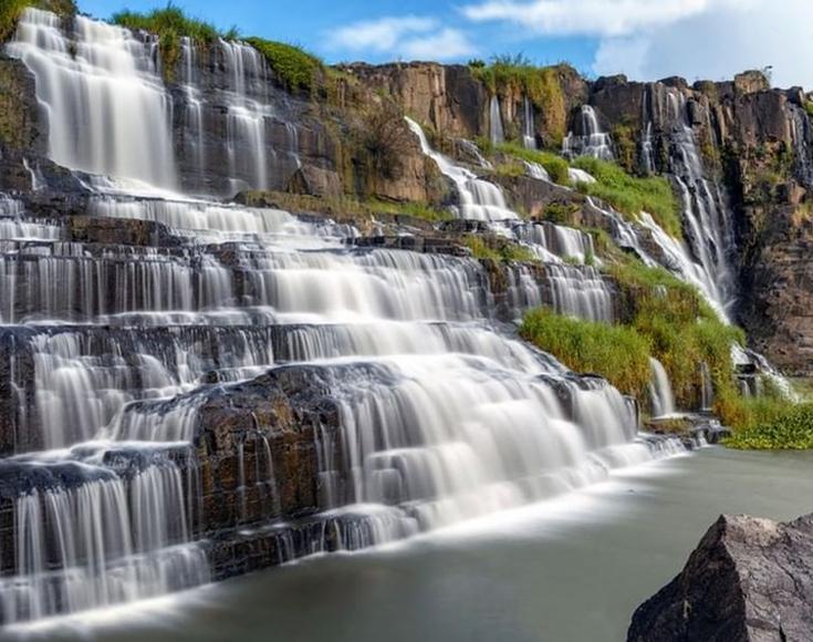 7. Pongour Waterfall, Lam Dong
