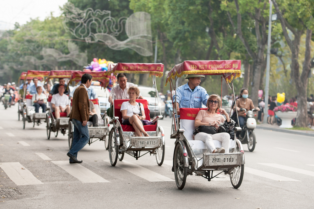 Riding a cyclo - a must try experience in Vietnam