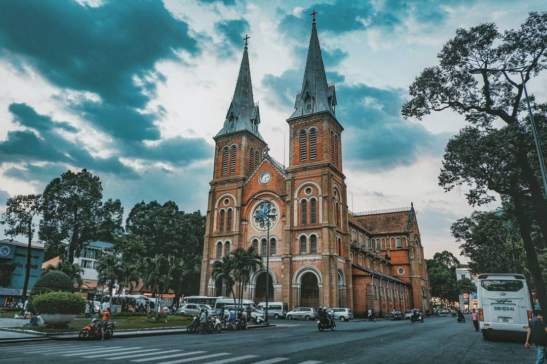 7. Saigon Notre Dame Cathedral