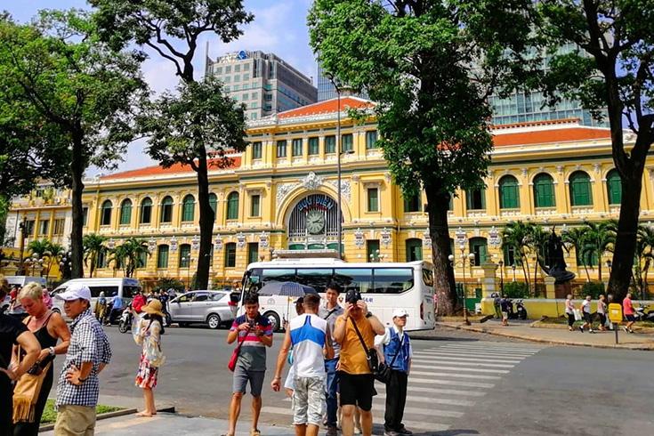 8. Saigon Central Post Office