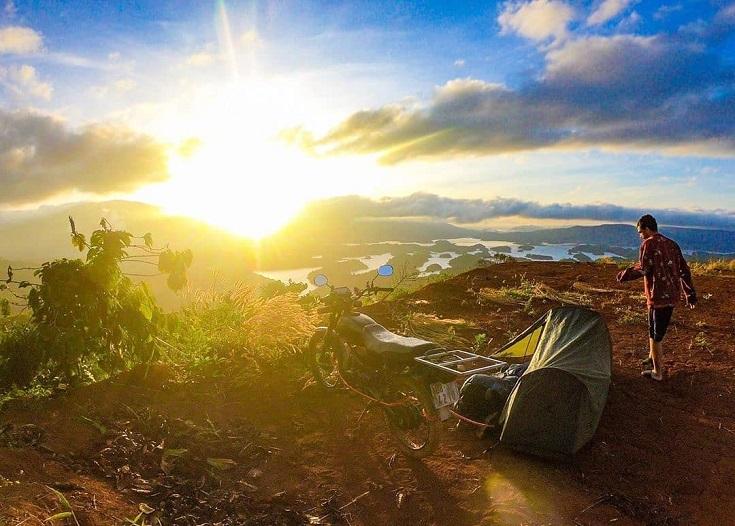 Ta Dung Lake - Camping in Vietnam