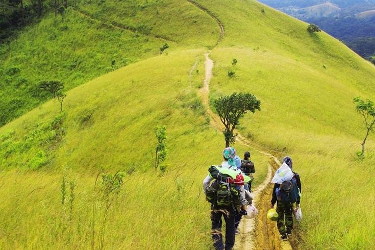 Ta Nang - Phan Dung trekking