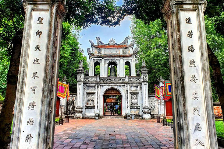 4. Temple of Literature, Hanoi