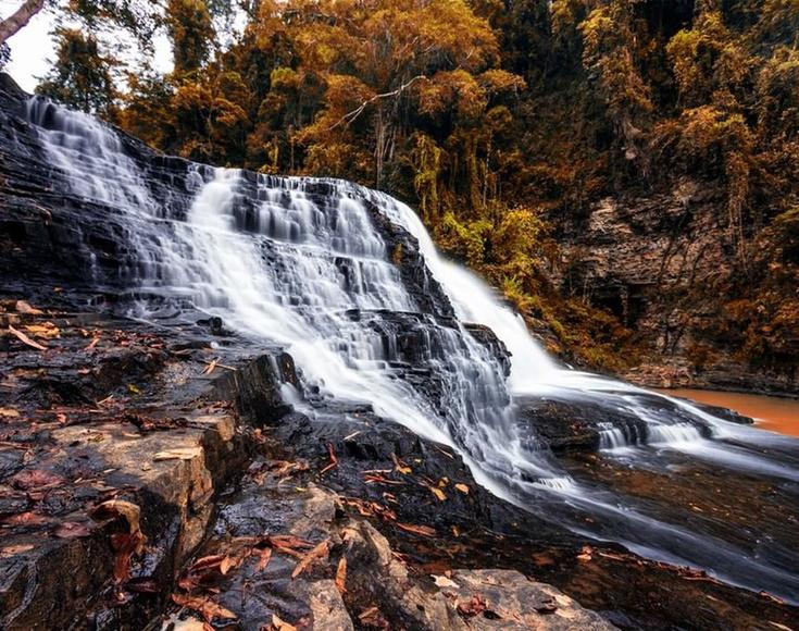 10. Thuy Tien Waterfall, Dak Lak