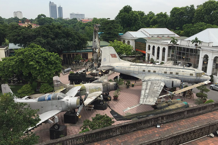 What to see in Vietnam military history museum
