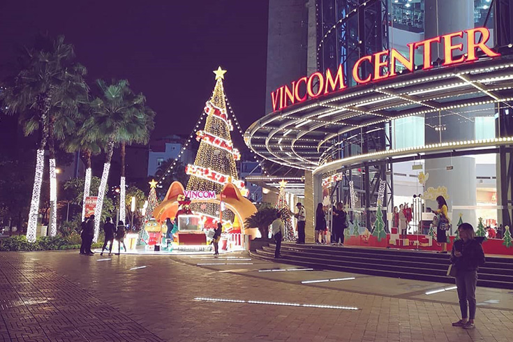 Vincom shopping mall