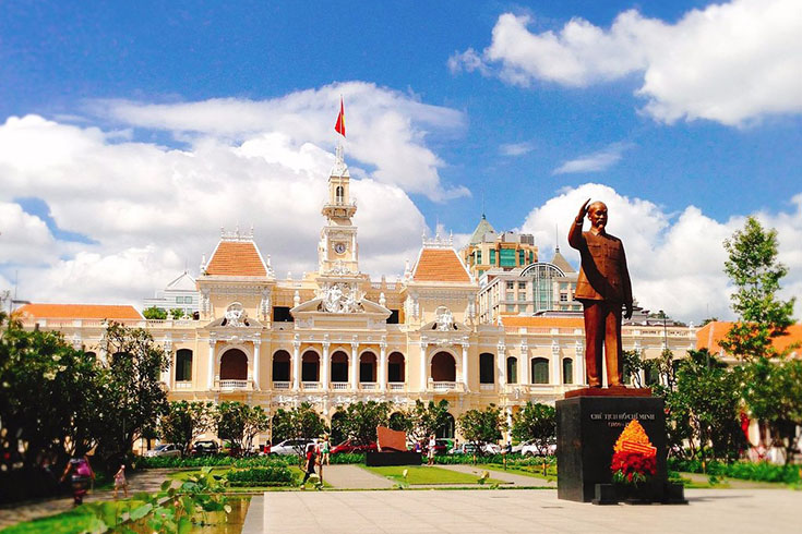 Ho Chi Minh City Museum in Ho Chi Minh City
