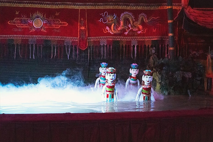 Watch a Water Puppet Show