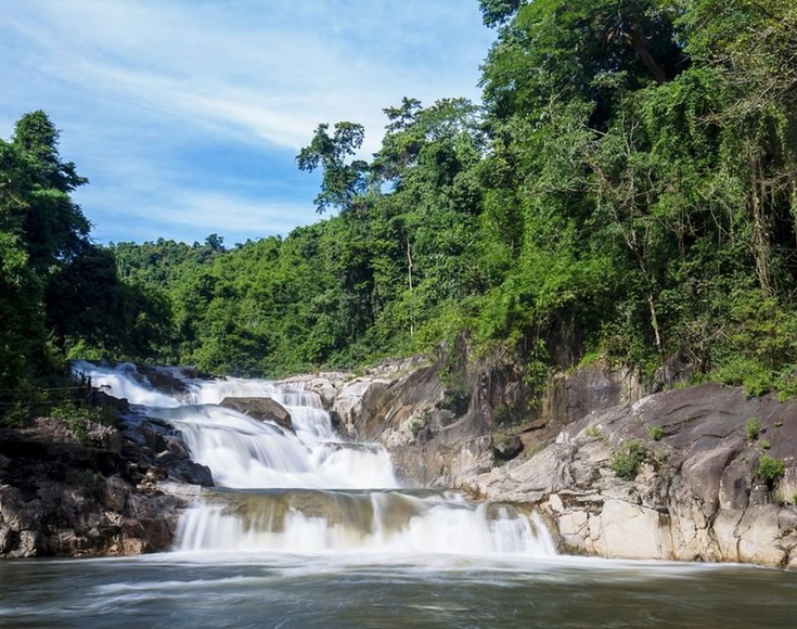 5. Yang Bay Waterfall, Khanh Hoa
