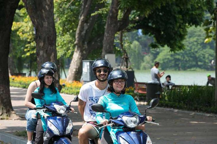 Hanoi Half-day Tour on Motorbike