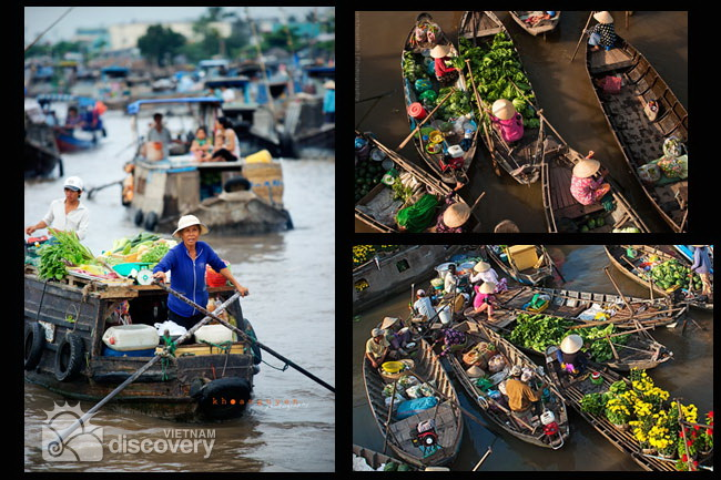 Vietnam River and Beach