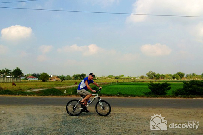 Half-day Cycling Tour to Cu Chi Tunnels