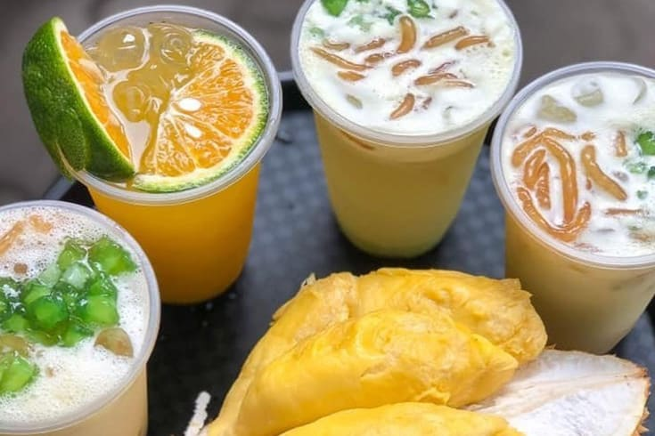 Durian Sugarcane Juice