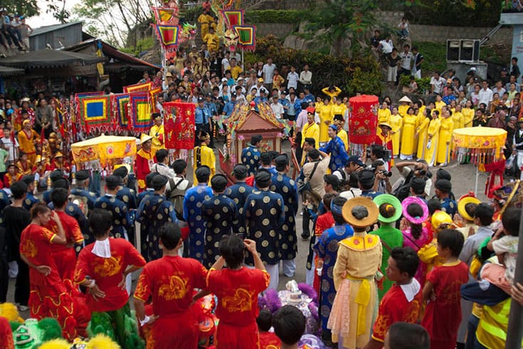 Highlights of Ba Chua Xu temple festival