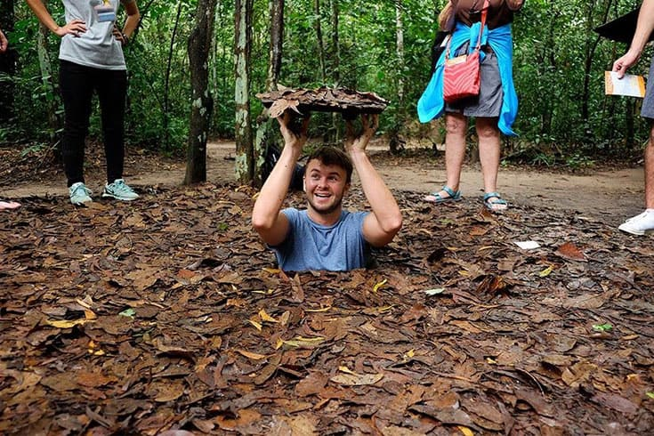 Highlights of Ben Dinh in Cu Chi tunnels