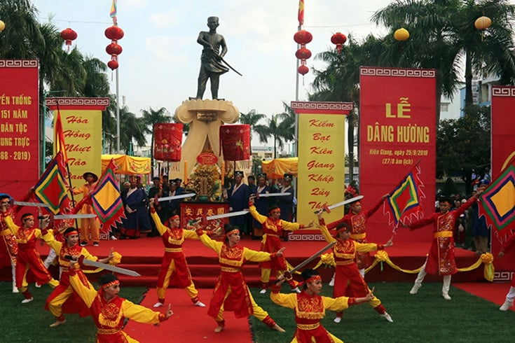 Historical Values of Nguyen Trung Truc temple festival