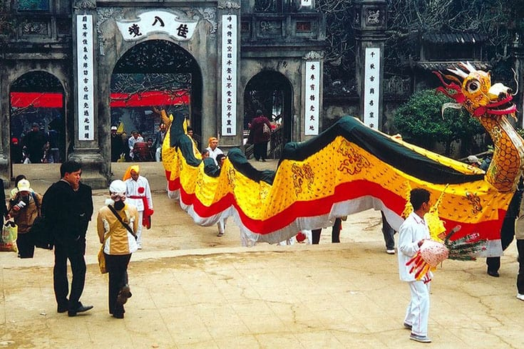 Huong pagoda festival highlights