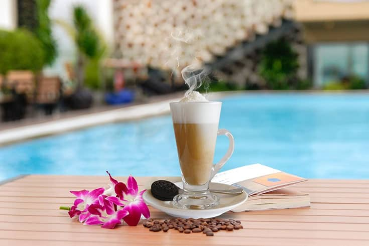 Taste Sweet Coconut Coffee