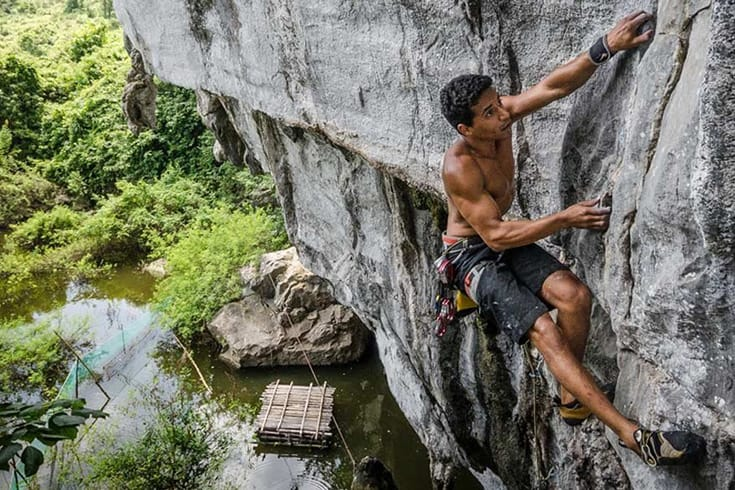 places for rock climbing in Vietnam
