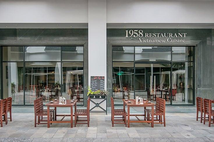 1958 restaurant in Halong Bay
