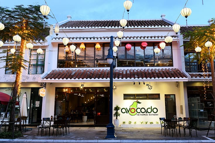 Avocado restaurant in Halong