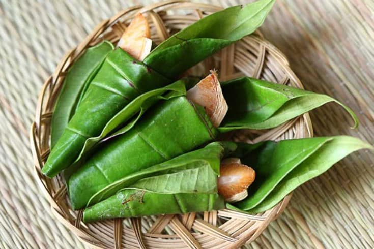 Betel quid in Vietnamese custom of betel chewing