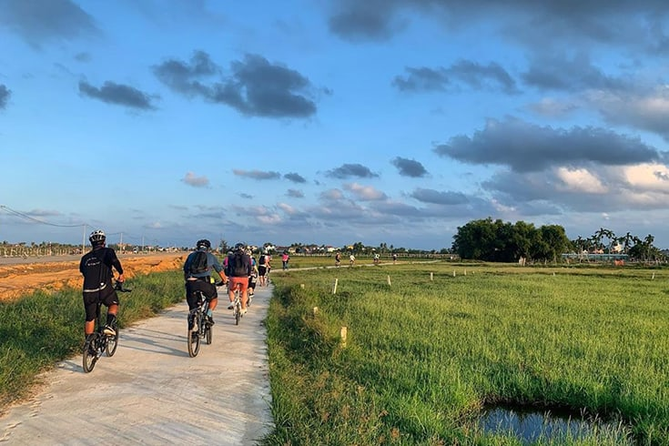 Cycling around Hoi An