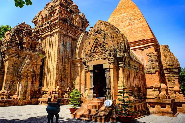 Goddess Ponagar Tower in Nha Trang