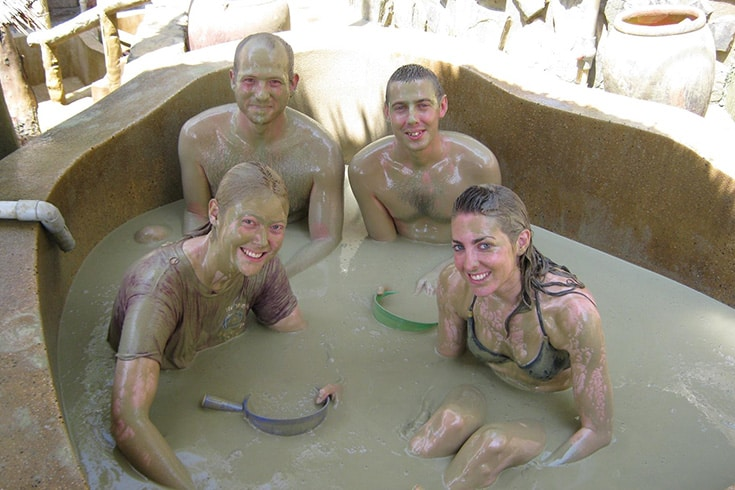 Have a Relaxing Mud Bath