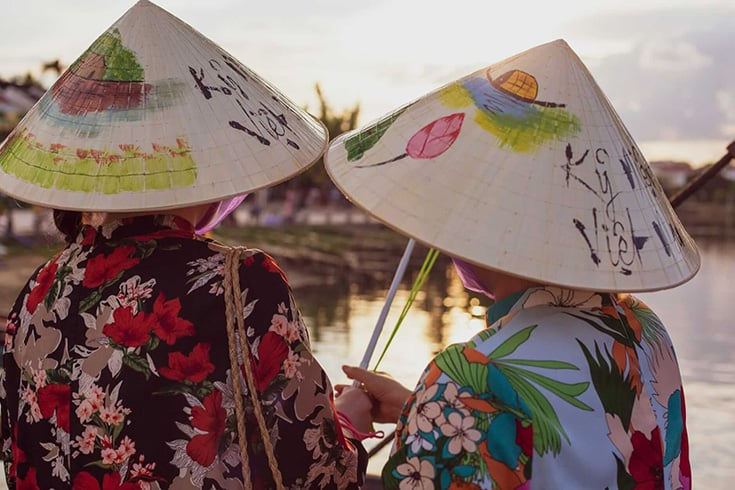 Hoi An Conical hats
