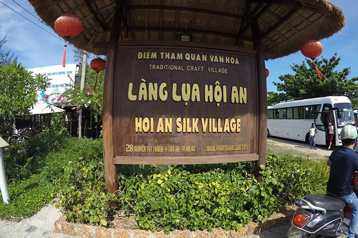 Hoi An Silk Village for Hoi An shopping