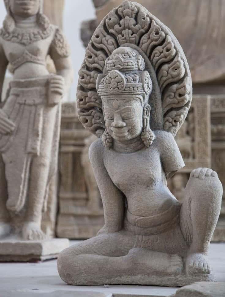 Sculpture in Cham Museum