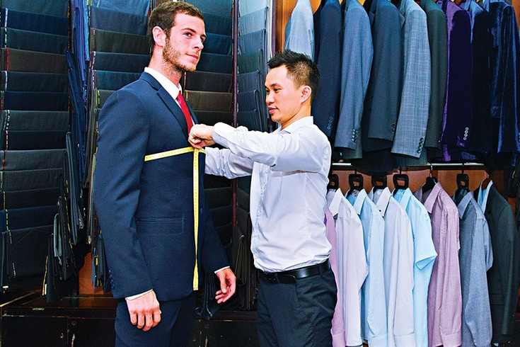 Tailor-made suit in Hoi An