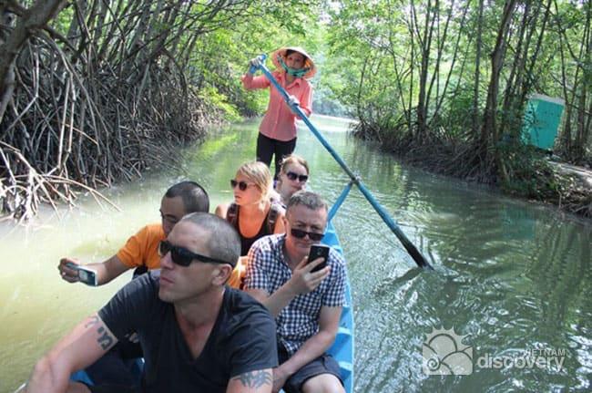 Half-Day Around Mekong Delta Vietnam by Old Vespa