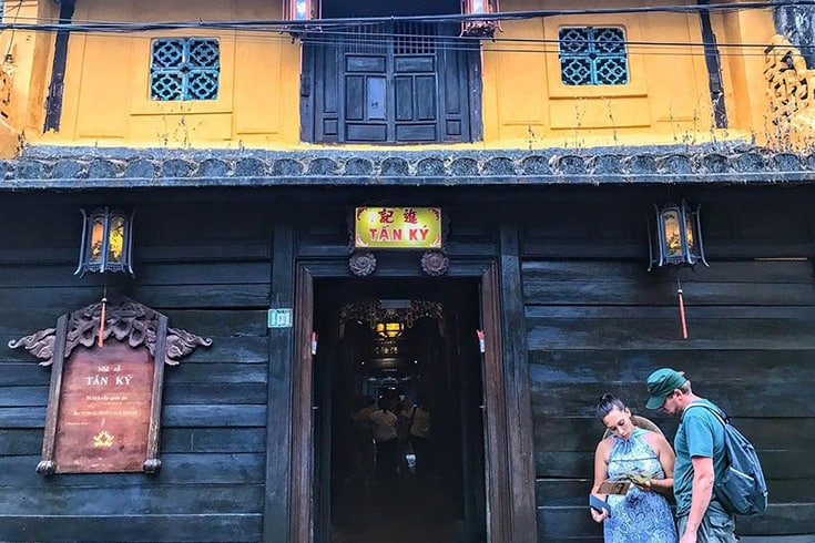 Architecture of Tan Ky old house