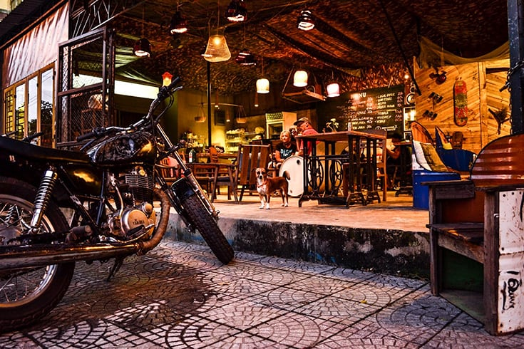 Cafes and bars in Hoi An