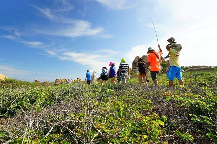 Best time to visit Cu Lao Cau island