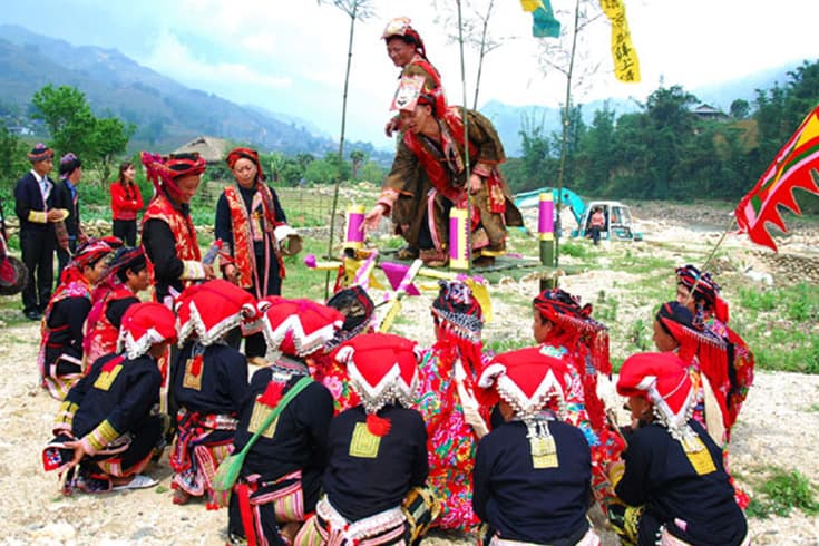 Highlights of Nao Cong in Sapa