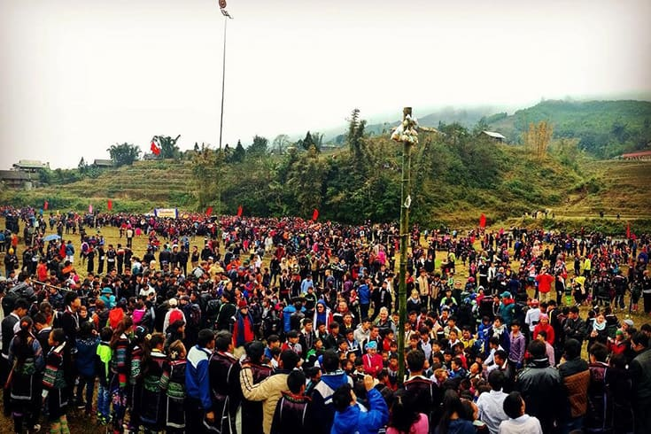 History of Gau Tao festival of Hmong in Sapa