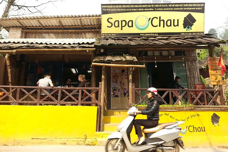 Sapa O'Chau Café - eating in Sapa
