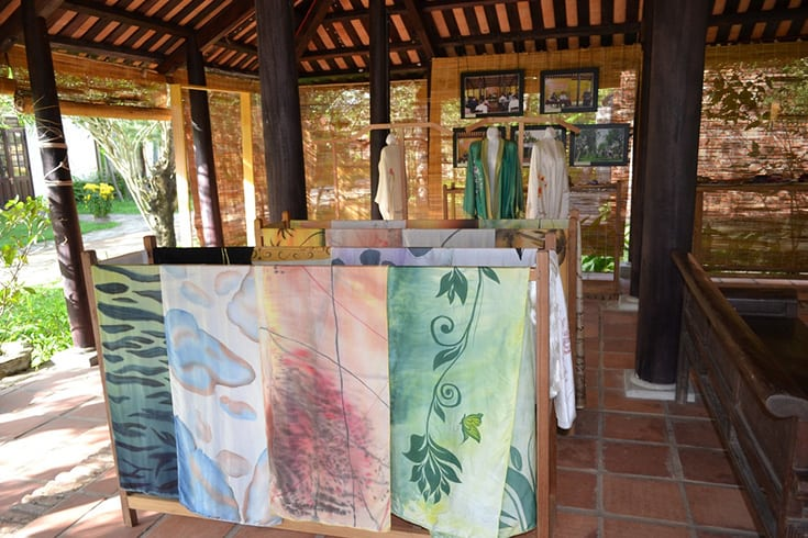 Visit the Cham Textile House