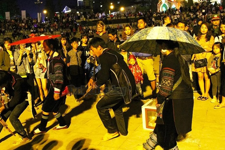 Joining traditional games in Sapa