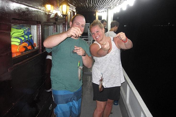 Night Squid Fishing - Nightlife in Nha Trang